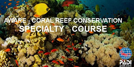 PADI Project Aware Coral Reef Conservation (Online) *GROUP DISC. AVAIL* tickets