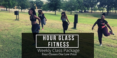 Hour Glass Fit Weekly Class Package tickets