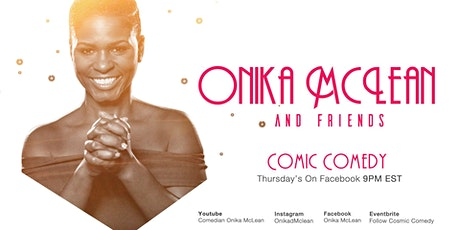 Cosmic Comedy - Celebration of Life with Onika McLean - On Facebook tickets