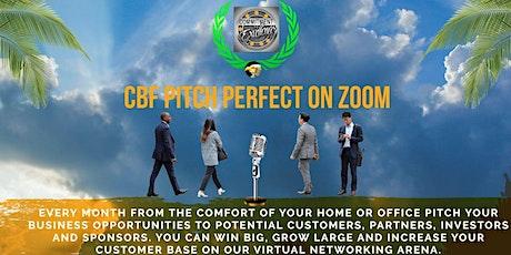 CBF Biz Pitch Perfect tickets