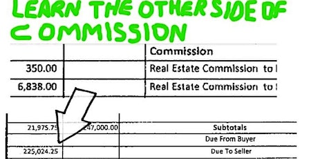 NYC - Other Side of Commission (For Ambitious Realtors Only) tickets