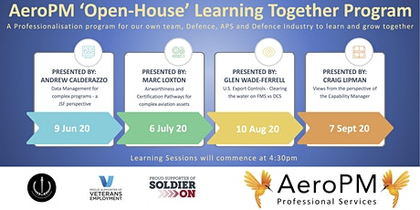 AeroPM 'Open House' Learn Together Program tickets