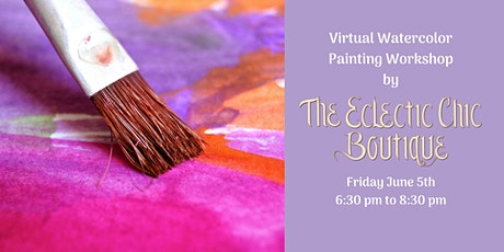 Virtual Watercolor Painting Workshop tickets