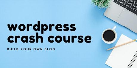 WordPress Crash Course tickets