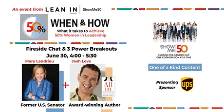 50% When & How: a Lean In ShowMe50 Career Empowerment Event tickets