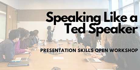 Speaking Like a Ted Speaker in Hong Kong (June 2020) tickets
