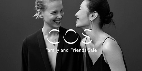 COS Family & Friends Sale tickets