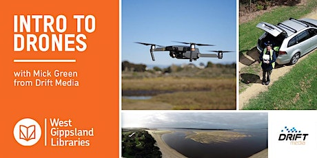 A Brief Look (Up) at Drones- with Mick GREEN (Drift Media) tickets