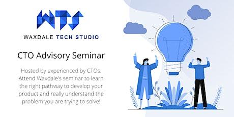 CTO Advisory Seminar for Startups. boletos