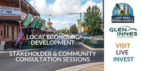 Glen Innes Economic Development Consultation Sessions tickets