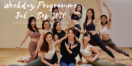 July 2020 - September 2020 Weekday 200-HOUR YOGA ALLIANCE ACCREDITED TEACHER TRAINING PROGRAMME tickets