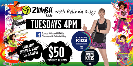 Zumba Kids with Belinda Riley tickets