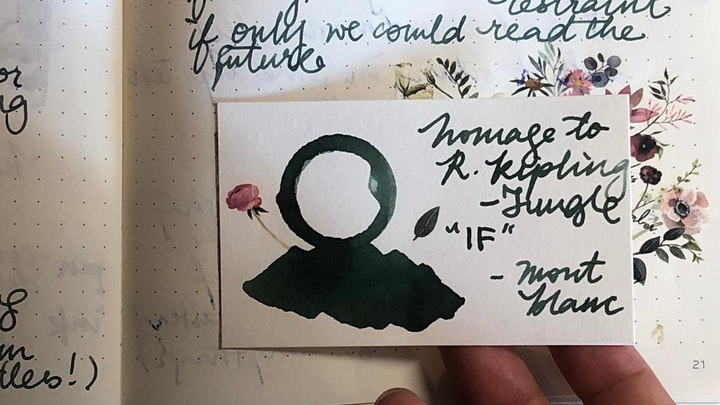 Fountain Pen Meetup: Show & Tell with @MissMuffat image