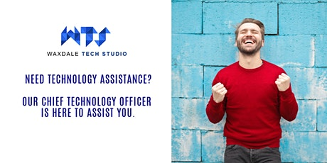 Need technology assistance? Our Chief Technology Officer can assist you. tickets