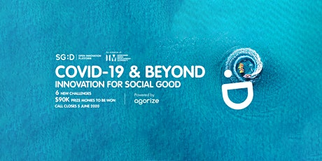 IMDA COVID-19 & Beyond - Innovation for Social Good tickets