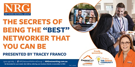 """Be The """"Best"""" Networker You Can Be with Tracey Franco Tickets"""