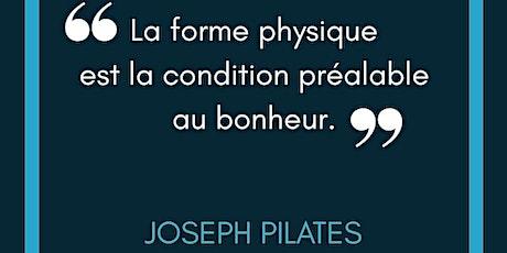 Cours de Pilates intermédiaire (ONLINE) billets