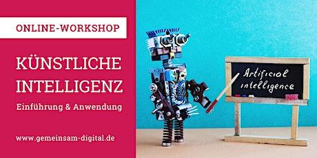 Künstliche Intelligenz –Einführung und konkrete Anwendung (Online-Workshop) Tickets
