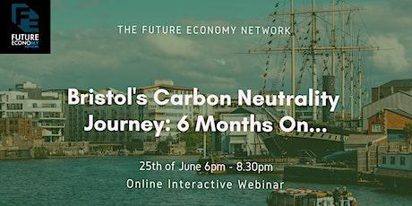 Bristol's Carbon Neutrality Journey: 6 Months On... tickets