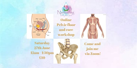 Pelvic Floor and Core workshop Tickets