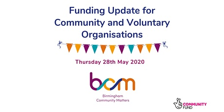 BCM Grant Funding Update for Voluntary and Community organisations tickets