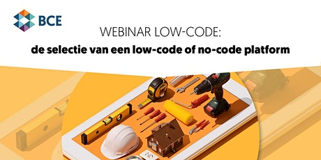 Webinar: Low-code - De selectie van een low-code of no-code platform tickets