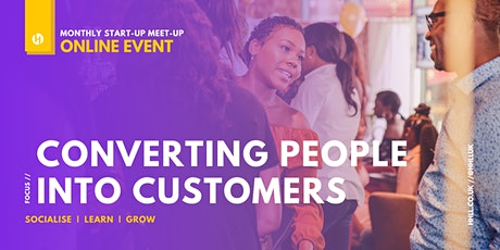 Converting People Into Customers (Online Event) tickets