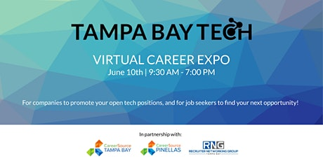 Tampa Bay Tech's 1st Virtual Career Expo! tickets