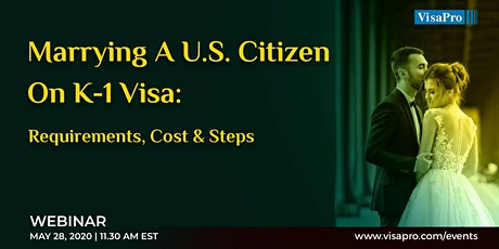 Marrying A U.S. Citizen On K-1 Visa: Requirements, Cost & Steps boletos