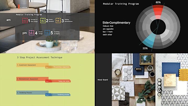 INTERIOR DESIGN & REFURBISHMENT MASTERCLASS image