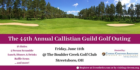 44th Annual Callistian Guild Golf Outing tickets