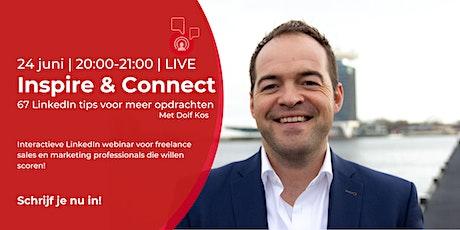 Inspire & Connect LIVE   24 juni   LinkedIn training tickets