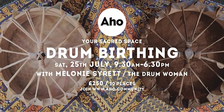 Drum Birthing Workshop with Melonie Syrett tickets