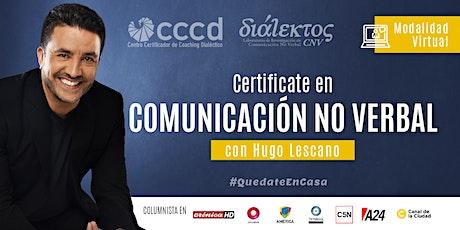 Doble Certificación en Comunic. No Verbal con Coaching Dialéctico | VIRTUAL boletos