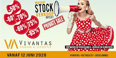 Vivantas stockverkoop *private sale* tickets