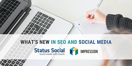 What's New in SEO and Social Media Webinar tickets