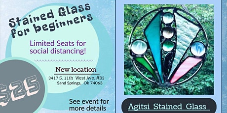 $25 Rings of Fun Beginner Friendly Stained Glass Class tickets