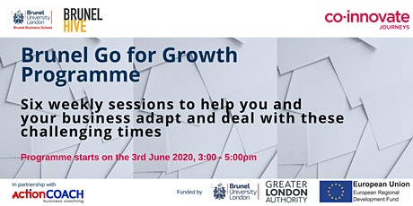 Brunel Go for Growth Programme tickets