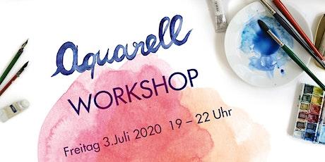 Aquarell Workshop in Schwabing am 3. Juli 2020 Tickets