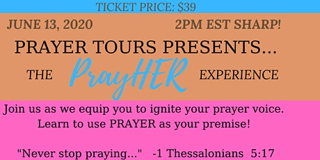 PrayHER Tour tickets