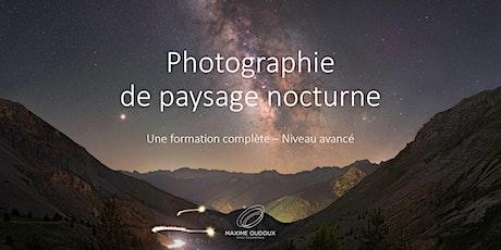 Photographie de Paysage Nocturne - Niveau Avancé billets