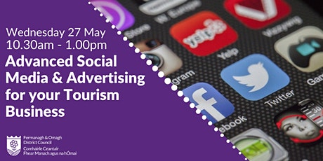Advanced Social Media & Advertising for your Tourism Business tickets