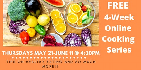 Cooking Matters Virtual Cooking Series tickets