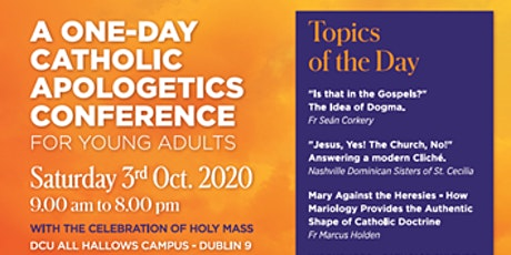 Evangelium Ireland - Catholic Apologetics Conference - Lunch included tickets