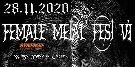 Female Metal Fest VI - Prix Libre tickets
