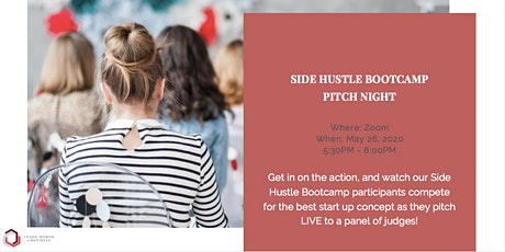 YWiB Side Hustle Bootcamp - Pitch Night tickets