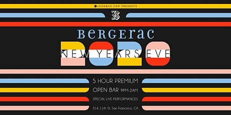 Bergerac New Years Eve Party 2021 tickets