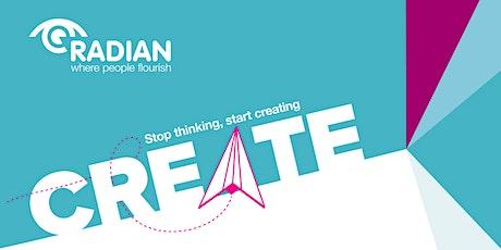Radian's' Create' Self Employment Webinar Course tickets