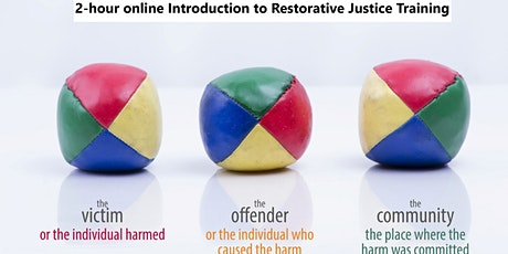 Introduction to Restorative Justice  (Intro to RJ) 2 hour online training tickets