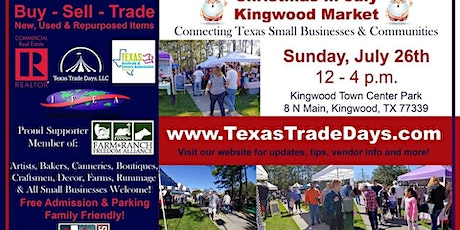 July Kingwood Market | Texas Trade Days tickets
